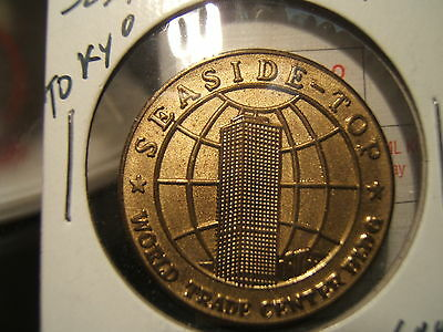 Seaside Top Tokyo Medal World Trade Center Stamped # 2660