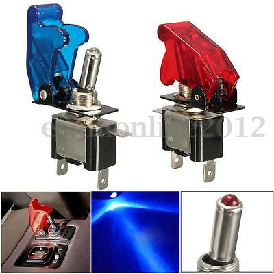 12V 20A Coche Auto Dashboard LED Luz SPST Palanca Toggle Switch Control On/Off