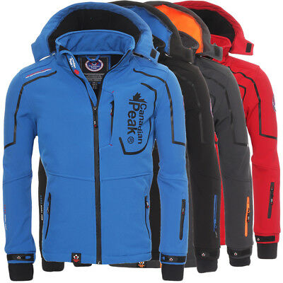 Canadian Peak by Geographical Norway Triyuga Herren Softshell Jacke Outdoor