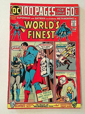 World's Finest #226 from 1974 100 pages Kirby Sandman Metamorpho