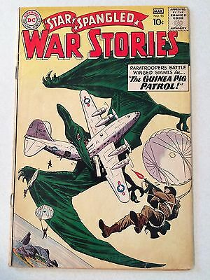 Star Spangled War Stories #95 great Pterodactyl cover 1961 VG or better