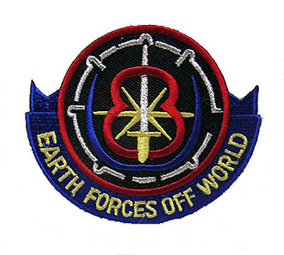 Babylon 5 Earth Forces Off World Patch - Uniform Aufnäher neu