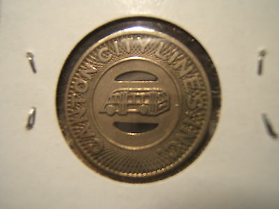 1940 CANTON CITY LINES, INC. BUS TOKEN  GOOD FOR ONE FARE 26MM -Canton, OHIO