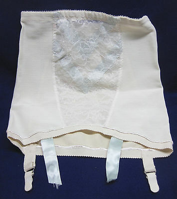 """Vintage Southcraft Creation Open Bottom Girdle with Stocking Garters Hip 37""""-38"""""""