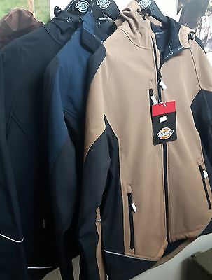 Dickies Two Tone Waterproof Polyester Soft Shell Jacket