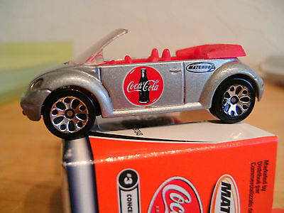 Matchbox Coca Cola: VW Beetle Convertible
