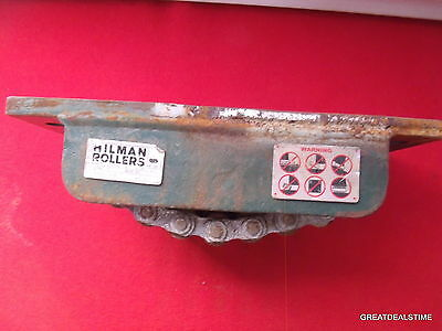 Hilman 20 Ton Rollers Roller Skates Machinery Dolly Hillman 20 Tons 20-Nt