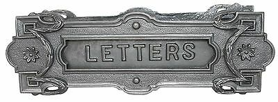 Cast Iron Neoclassical Mailbox Letter Slot