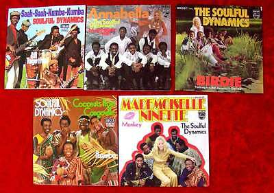 5 Singles Soulful Dynamics Mademoiselle Ninette Annabella Coconuts from....