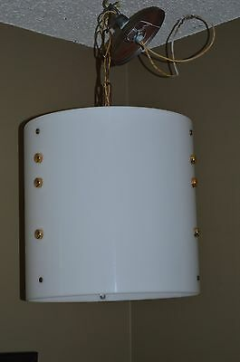 Winebarger Church Furniture Hanging Light Fixture Acrylic Lucite Cylinder Shade