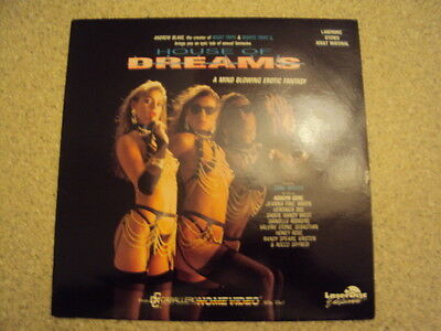 Laserdiscs x 4 ALL RARE IMPORT - ONE OFF COLLECTION inc House of Dreams REDUCED