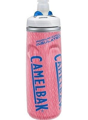2016 NEW Camelbak Podium Chill Water Bottle 21 Ounce CORAL