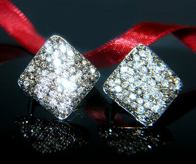 Elegante 3,30 c Brillant Ohrstecker Ohrringe Brillantohrringe 585 Gold Diamanten