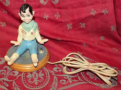 Vintage 1940s Howdy Doody Night Light Lamp Working Condition