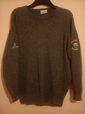 Holywell Golf Club Embroidered Centenary Jumper 1906 - 2006 Glenbrae Size S Vgc