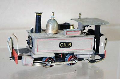 KIT SCRATCH BUILT On30 CILR 0-4-0 WELSH NARROW GAUGE TANK LOCO 3 na