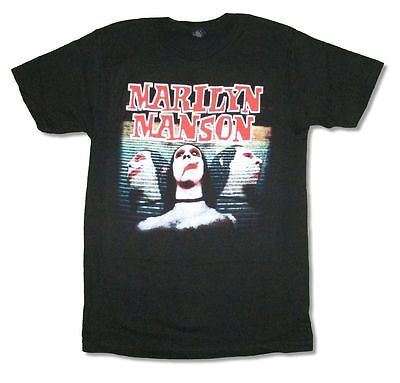 Marilyn Manson Sweet Dreams Are Made Of This Black T Shirt New Official Merch