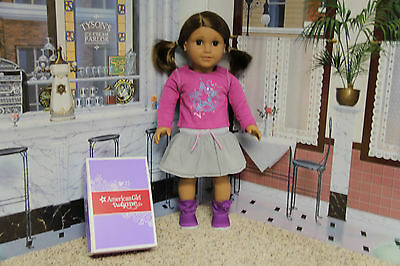 "American Girl / Truly Me - ""Shimmer Doodle Outfit"" - COMPLETE - NIB"