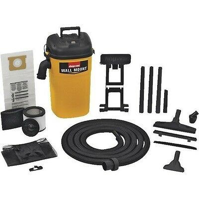 Shop-Vac 394-23-00  Wall Mount Pro Wet/Dry Vac 5.0 Gallon/ 4.0 HP