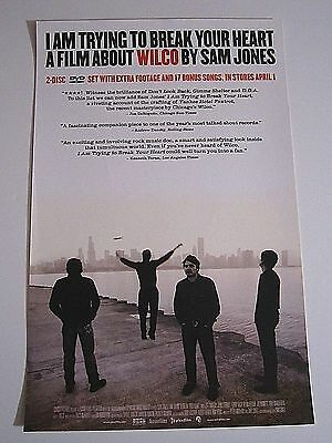 I Am Trying To Break Your Heart A Film About WILCO By Sam Jones Promo Poster