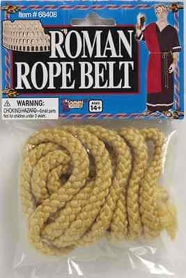 Rope Belt Roman Monk Grim Reaper Biblical Halloween Adult Costume Accessory