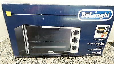 DeLonghi EO2058 6-Slice Convection Toaster Oven with Rotisserie NIB 101581-1 (JR