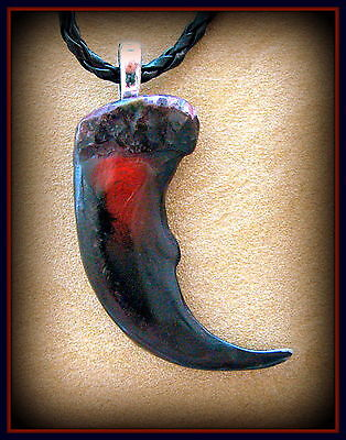 Indian style BEAR CLAW replica PENDANT NECKLACE - Wild Animal Jewelry
