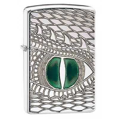Zippo Fire Breathing Windproof Lighter  Brand New