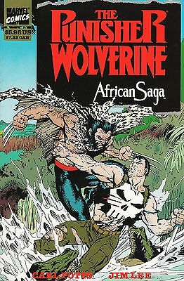 The Punisher / Wolverine: African Saga / US Softcover / Carl Potts & Jim Lee