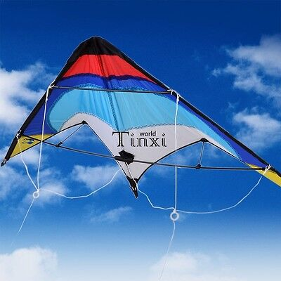 Dual Control Line Outdoor Activity Sport Stunt kite Fun to Fly Wing span TXWD