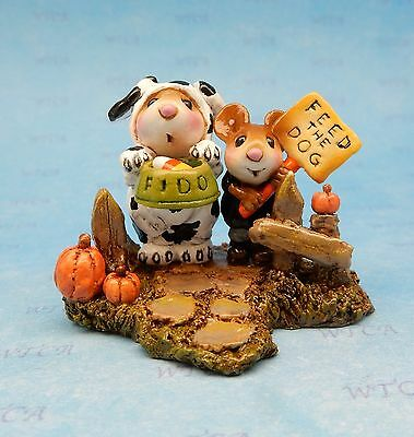 BEGGING FOR TREATS by Wee Forest Folk, WFF# M-591, New for Halloween 2016!