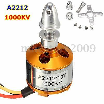 A2212 1000KV Drone Helicopter Brushless Outrunner Motor for Aircraft Quadcopter