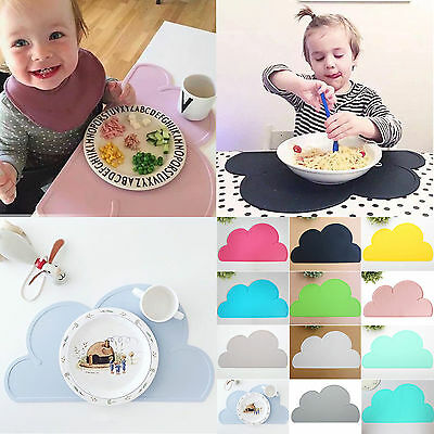 Kid Silicone Insulation Pad Table Coasters Tableware Dining Pad Kitchen Placemat