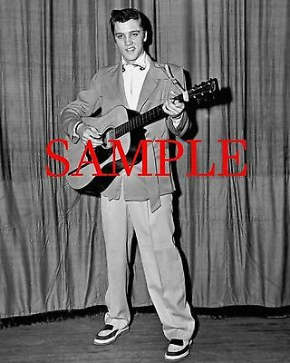 ELVIS PRESLEY 1955 UNSEEN 8x10 MEMPHIS Photo printed from original negatives