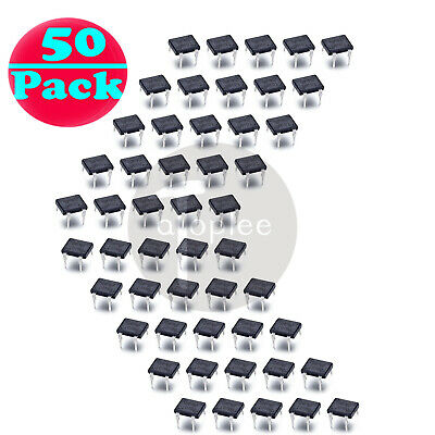 50PCS DB107 DB107G 1A 1000V Single Phases Diode Rectifier Bridge DIP-4