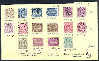 English Colony  Cook Islands 16 St.  Cv £ 316  *  Mh  Most Vf (Some Stains)