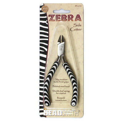 BeadSmith® Zebra Line Cutter Pliers with Double Spring * Jewelry Tools