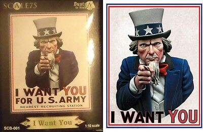 Scale75 - I WANT YOU FOR U.S. ARMY - Lo Zio Sam - The Uncle Sam (scala 1/10)