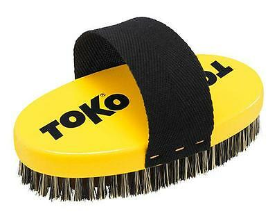Toko Base Brush Oval Copper With Strap   Tuning tools