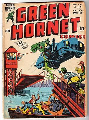HARVEY PUBLICATIONS Comics GREEN HORNET Golden age #30 Vol 1 4.5 1946