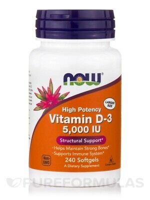 7Nutrition Vitamin D3 4000 IU 120 caps