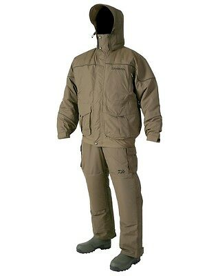 Daiwa NEW Carp Fishing Green Igloo 2 Piece Waterproof Suit *All Sizes*