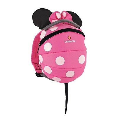 Littlelife Disney Pink Minnie Toddler Daysack 2 Liters Pink Kinderrucksäcke