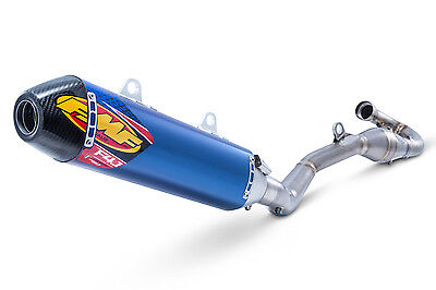Ktm 450 Sxf  2017  Fmf Full Exhaust 4.1 Rct Full System With Megabomb Blue Ano