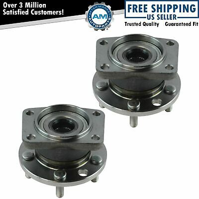 Wheel Hub Bearing Assembly Rear LH RH Pair for 02-08 Jaguar X-Type New