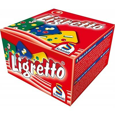 Schmidt Ligretto Red Edition Card Game - Brand new!