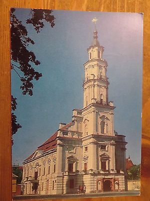 1979 USSR/Lithuania Special Cancellation Postcard