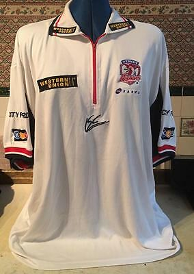 2003 Australian Sydney Roosters Nrl Casual Isc Top Shirt Xxl Rugby League