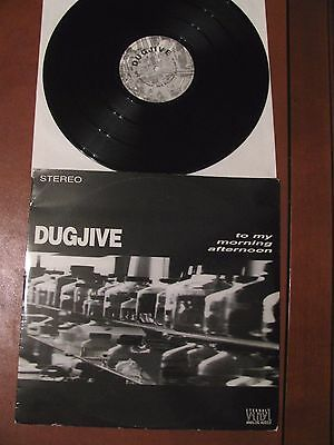 "DUGJIVE to my morning afternoon-12""-rare stoner from Sicily-live -3 trks/ 1 side"