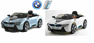 New Bmw I8 Kids Electric Ride On Battery Car With Parental Remote
